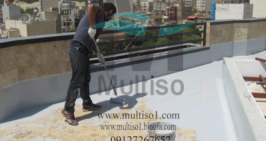 عایق پشت بام نانو مولتیزو